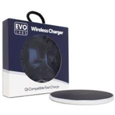 Universal Fast Charging QI Wireless Charging Pad Silver