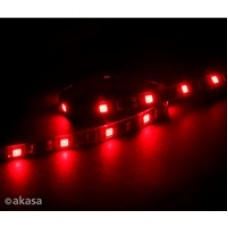 Akasa Vegas M 0.5m Magnetic Red LED Light Strip