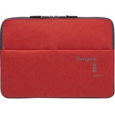 "Targus 360 Perimeter Travel & Commuter Laptop Sleeve Protector for 13-14"" Laptops Flame Scarlet"