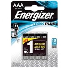 Energizer MaxPlus Pack of 4 AAA Batteries