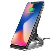 Universal Fast Charging QI Wireless Charging Stand Black