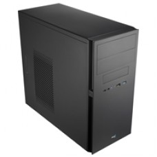 Aerocool QC-203 Micro Tower 1 x USB 3.0 / 1 x USB 2.0 Black Case