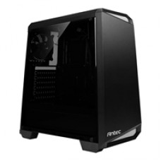 Antec NX100 Mid Tower 1 x USB 3.0 / 2 x USB 2.0 Side Window Panel Black & Grey Case