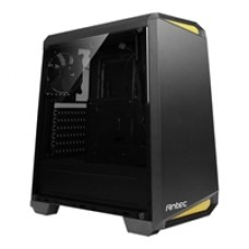 Antec NX100 Mid Tower 1 x USB 3.0 / 2 x USB 2.0 Side Window Panel Black & Yellow Case