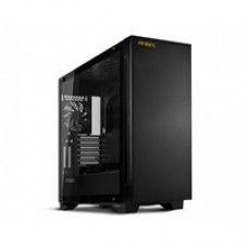 Antec P110 Luce Mid Tower 2 x USB 3.0 Tempered Glass Side Window Panel Black Case with RGB LED Front Logo