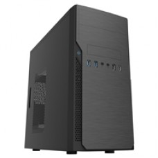 CiT Classic Micro Micro Tower 2 x USB 3.0 / 2 x USB 2.0 Black Case with 500W PSU