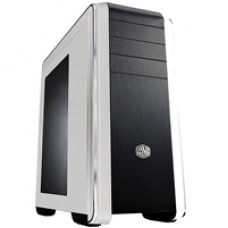Cooler Master CM 690 III White Mid Tower 2 x USB 3.0 / 2 x USB 2.0 Side Window Panel White Case
