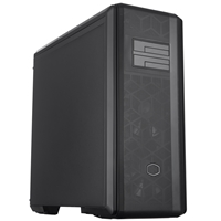 Cooler Master MasterBox NR600P Full Tower 1 x 3.2 Type-C /  2 x USB 3.2 Type A Black Case