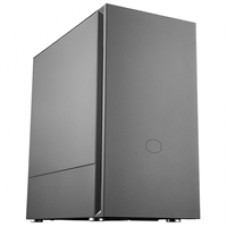 Cooler Master Silencio S400 Micro Tower 2 x USB 3.2 Gen 1 Sound-Dampened Steel Black Case