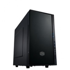 Cooler Master Silencio 352 Micro Tower 2 x USB 3.0 / 1 x USB 2.0 Soundproof Black Case