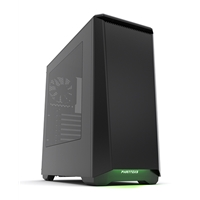 Phanteks Eclipse P400 Full Tower 2 x USB 3.0 Side Window Panel Satin Black Case with RGB LED Down Light