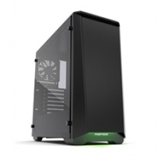 Phanteks Eclipse P400S Tempered Glass Edition Full Tower 2 x USB 3.0 Tempered Glass Side Window Panel Satin Black Case with RGB LED Down Light