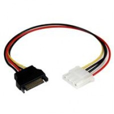 StarTech SATA Power (M) to 4-pin Molex (F) 0.3m Retail Packaged Internal Cable