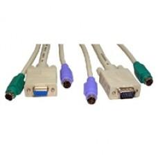 2x Male-Male PS/2 1x Male-Female SVGA, 3m Cable