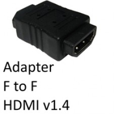HDMI 1.4 (F) to HDMI 1.4 (F) Black OEM Gender Changer Adapter