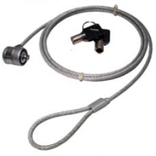 Laptop Barrel Lock 1m Security Cable