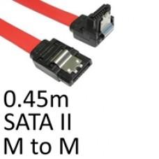 Locking SATA II (M) to Locking SATA II (M) 0.90m Red OEM Internal Data Cable