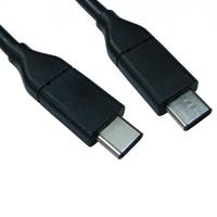 USB 3.1 C (M) to USB 3.1 C (M) 1m Black OEM Data Cable