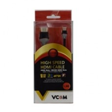 VCOM HDMI 1.4 (M) to HDMI Mini 1.4 (M) 3m Grey Retail Packaged Display Cable