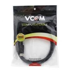 VCOM DisplayPort 1.2 (M) to DisplayPort 1.2 (M) 1.8m Black Retail Packaged Display Cable