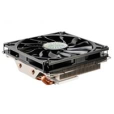Akasa Nero LX 2 Universal Socket 120mm PWM 1800RPM Low Profile Black Fan CPU Cooler