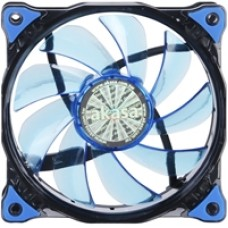Akasa Vegas 120mm 1200RPM Ultra Quiet Blue LED Fan