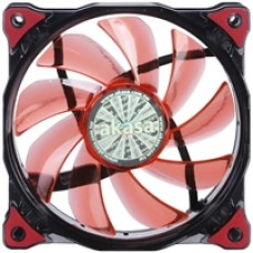 Akasa Vegas 120mm 1200RPM Ultra Quiet Red LED Fan