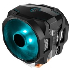 Cooler Master MasterAir MA610P Universal Socket 2 x 120mm PWM 1800RPM RGB LED Fan CPU Cooler with Wired RGB Controller