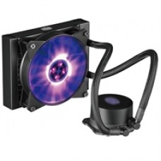 Cooler Master MasterLiquid ML120L RGB Universal Socket 120mm PWM 2000PRM RGB LED AiO Liquid CPU Cooler with Wired RGB Controller