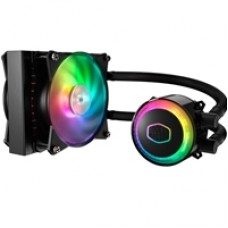 Cooler Master MasterLiquid ML120R RGB Universal Socket 120mm PWM 2000RPM ARGB LED AiO Liquid CPU Cooler with Wired ARGB Controller