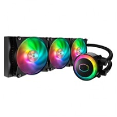 Cooler Master MasterLiquid ML360R RGB Universal Socket 360mm PWM 2000RPM ARGB LED AiO Liquid CPU Cooler with Wired ARGB Controller