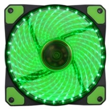 Evo Labs Vegas 120mm 1300RPM Green LED Fan