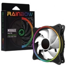 Game Max Mirage White Fins 120mm 1100RPM Addressable RGB LED Fan