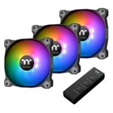 Thermaltake Pure 14 Addressable RGB Sync Radiator Fan TT Premium Edition 3 Fan Pack with ARGB Controller