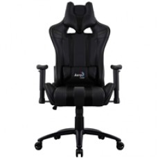 Aerocool AC120 Air Black Gaming Chair with Air Technology Headrest & Backrest Cushions Included
