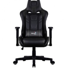 Aerocool AC220 Air Black Gaming Chair with Air Technology Headrest & Backrest Cushions Included