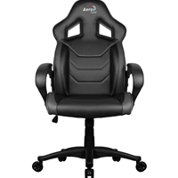 Aerocool AC60C Air Black Gaming Chair with Air Technology & Unique Carbon Fibre Blend