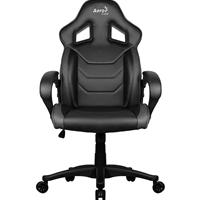 Aerocool AC60C Air Black Gaming Chair with Air Technology & Unique Carbon Fibre Blend
