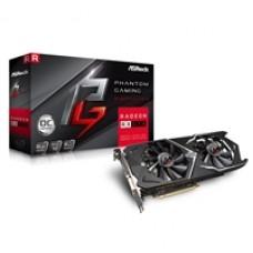 ASRock Phantom Gaming X Radeon RX570 8GB OC Dual Fan Graphics Card