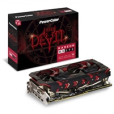 PowerColor Radeon RX 590 Red Devil 8GB GDDR5 VR Ready Dual Fan Graphics Card