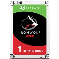 "Seagate IronWolf ST1000VN002 1TB NAS Hard Drive 3.5"" 5900RPM 64MB Cache Sata lll Internal Hard Drive"