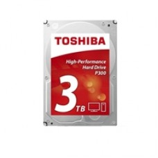 "Toshiba P300 HDWD130UZSVA 3TB 3.5"" 7200RPM 64MB Cache SATA III Internal Hard Drive"