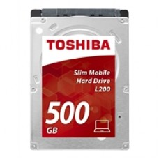 """Toshiba L200 HDWK105UZSVA Sata III 500GB 2.5"""" 5400RPM Internal HDD"""