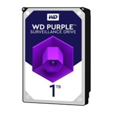 "WD Purple WD10PURZ 1TB 3.5"" 5400RPM 64MB Cache SATA III Surveillance Internal Hard Drive"