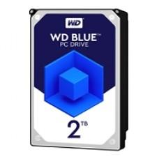 """WD Blue WD20EZAZ 2TB 3.5"""" 5400RPM 256MB Cache SATA III Internal Hard Drive"""