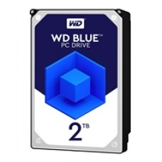 "WD Blue WD20EZRZ 2TB 3.5"" 5400RPM 64MB Cache SATA III Internal Hard Drive"