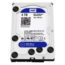 WD Blue WD40EZRZ - Hard drive - 4 TB - internal - 3.5 - SATA 6Gb/s - 5400 rpm - buffer: 64 MB