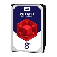 "WD Red WD80EFAX NAS 8TB 3.5"" 5400rpm 64MB Cache Sata III Internal Hard Drive"