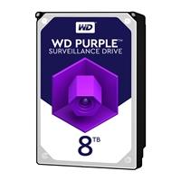 """WD Purple WD81PURZ 8TB 3.5"""" 5400RPM 64MB Cache SATA III Surveillance Internal Hard Drive"""