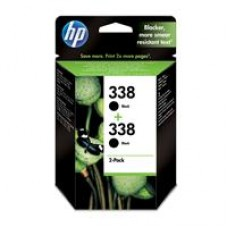 Original 338 2-pack Black Inkjet Print Cartridges CB331EE